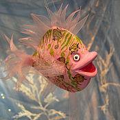 Для дома и интерьера ручной работы. Ярмарка Мастеров - ручная работа Рыбка  Розовое море. Handmade.