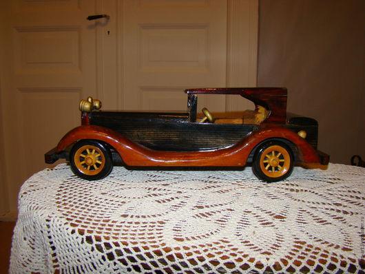 Винтажные предметы интерьера. Ярмарка Мастеров - ручная работа. Купить Винтажная коллекционная  деревянная модель автомобиля- Швеция  -50. Handmade.