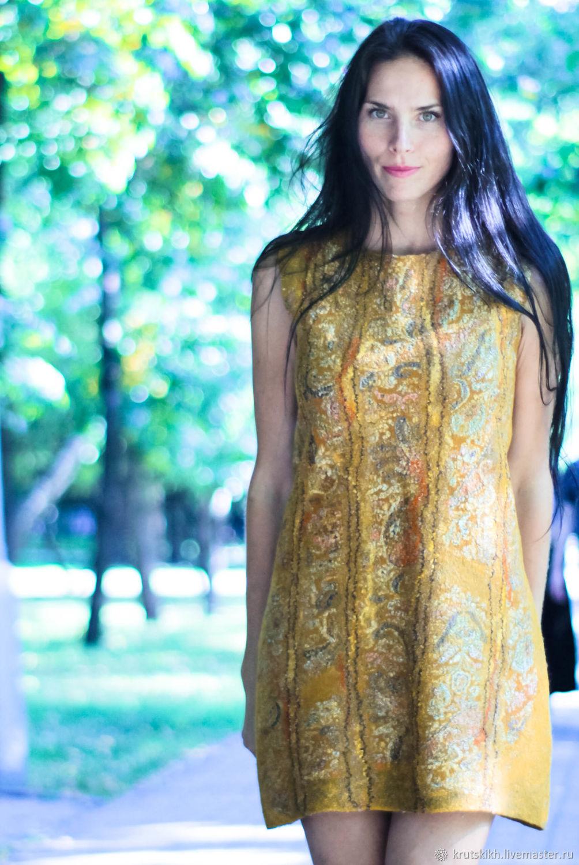 Валяное платье, Платья, Новосибирск, Фото №1
