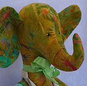 Куклы и игрушки ручной работы. Ярмарка Мастеров - ручная работа Слоник в стиле Тильда. Handmade.