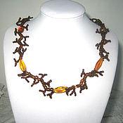 Украшения handmade. Livemaster - original item Necklace coral beads. Handmade.