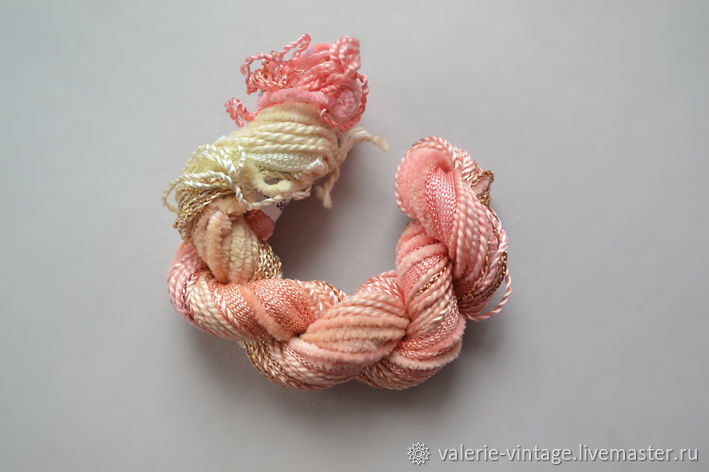Mix of 5 different threads for embroidery (№34), Thread, Moscow,  Фото №1
