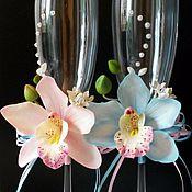 Свадебный салон ручной работы. Ярмарка Мастеров - ручная работа Королевские орхидеи. Handmade.