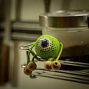 Куклы и игрушки ручной работы. Ярмарка Мастеров - ручная работа Грызунок- прорезыватель Майк Вазовски. Handmade.