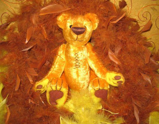 Мишки Тедди ручной работы. Ярмарка Мастеров - ручная работа. Купить Руфус. Handmade. Авторская игрушка, teddybear, фетр