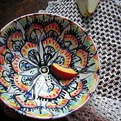 Посуда ручной работы. Ярмарка Мастеров - ручная работа Хвост павлина. Handmade.
