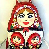 """Сумки и аксессуары ручной работы. Ярмарка Мастеров - ручная работа """"Любовь"""" дизайнерский рюкзак из коллекции. Handmade."""