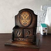Канцелярские товары handmade. Livemaster - original item Perpetual calendar. Handmade.