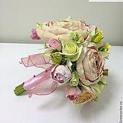Цветы и флористика ручной работы. Ярмарка Мастеров - ручная работа Букет невесты с лютиками. Handmade.