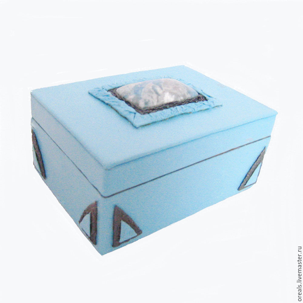 Blue box with violan, Box, Moscow,  Фото №1