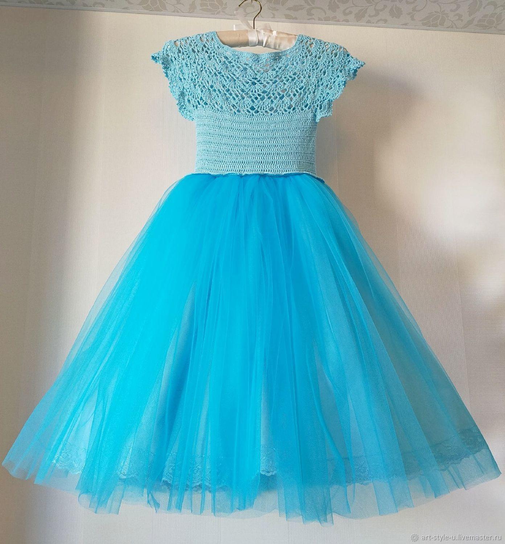 """Нарядное платье """"Голубое облако"""", Платья, Донецк,  Фото №1"""