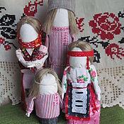 Народная кукла ручной работы. Ярмарка Мастеров - ручная работа Семья. Handmade.