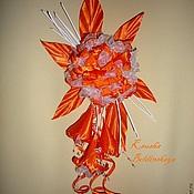 Украшения ручной работы. Ярмарка Мастеров - ручная работа Орхидея. Handmade.
