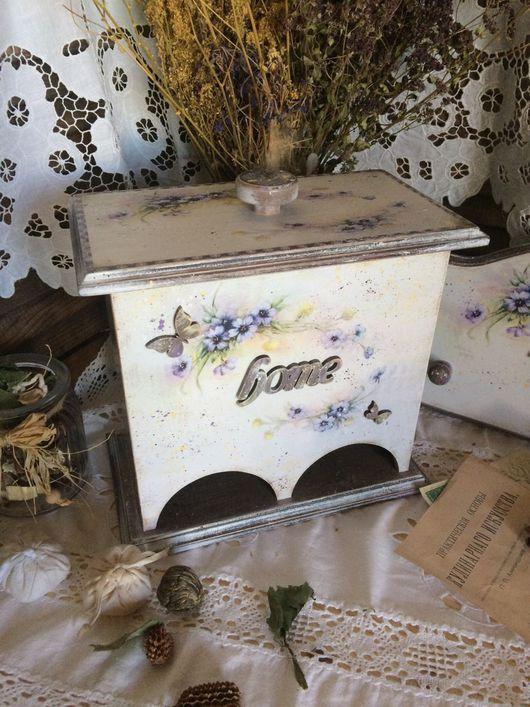 """Кухня ручной работы. Ярмарка Мастеров - ручная работа. Купить Чайный домик двойной """"На ступеньках лета"""". Handmade."""