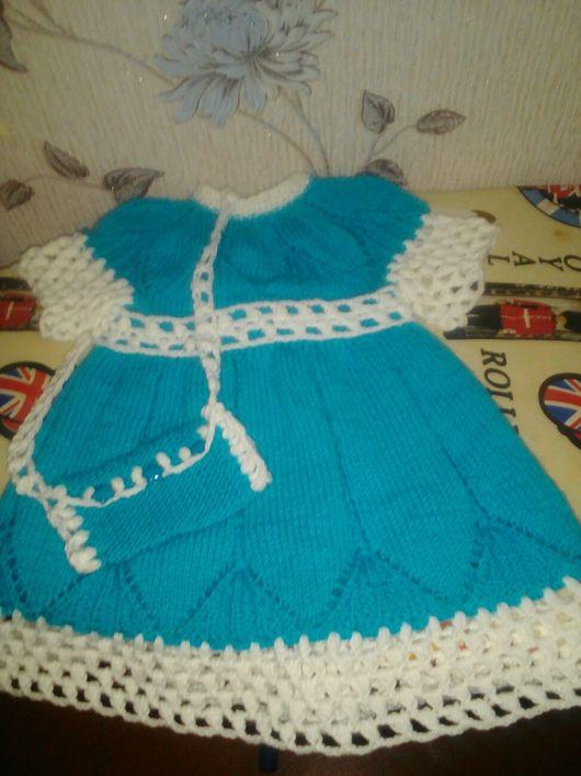 Одежда для девочек, ручной работы. Ярмарка Мастеров - ручная работа. Купить Комплект -море. Handmade. Платье нарядное, платье вечернее
