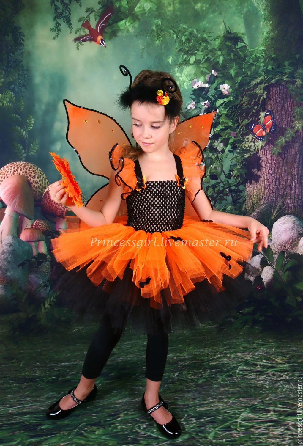 Butterfly costume, Carnival costumes for children, Moscow,  Фото №1