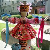 Народная кукла ручной работы. Ярмарка Мастеров - ручная работа Народная кукла Параскева Пятница. Оберег для рукодельниц. Handmade.
