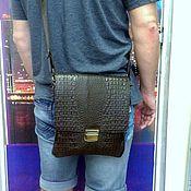 Сумки и аксессуары handmade. Livemaster - original item Bag leather mens 200. Handmade.