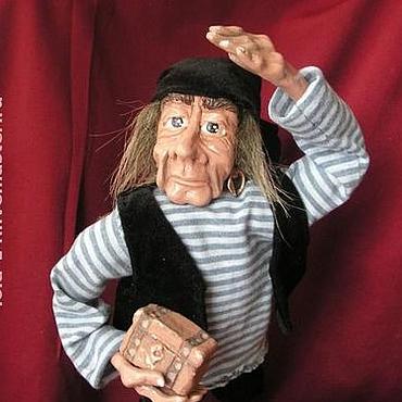Куклы и игрушки ручной работы. Ярмарка Мастеров - ручная работа Кукла  Морской волк. Handmade.