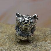 Материалы для творчества handmade. Livemaster - original item Boar charm. Handmade.