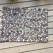 Ковры ручной работы. Ярмарка Мастеров - ручная работа коврик из гальки. Handmade.