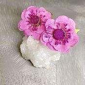 Украшения handmade. Livemaster - original item Earrings druzey quartz Romantic mood. Handmade.