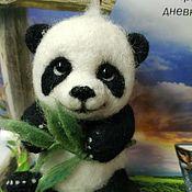 Куклы и игрушки ручной работы. Ярмарка Мастеров - ручная работа Медвежонок - Панда. Handmade.