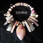 Украшения handmade. Livemaster - original item Necklace of natural stones