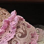 Аксессуары ручной работы. Ярмарка Мастеров - ручная работа мини-шаль Три цвета розы. Handmade.