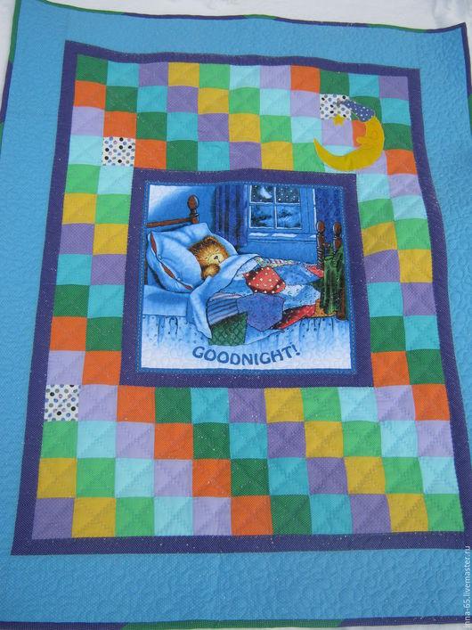 Пледы и одеяла ручной работы. Ярмарка Мастеров - ручная работа. Купить Лоскутное одеяло покрывало для мальчика. Handmade. Лоскутное шитье