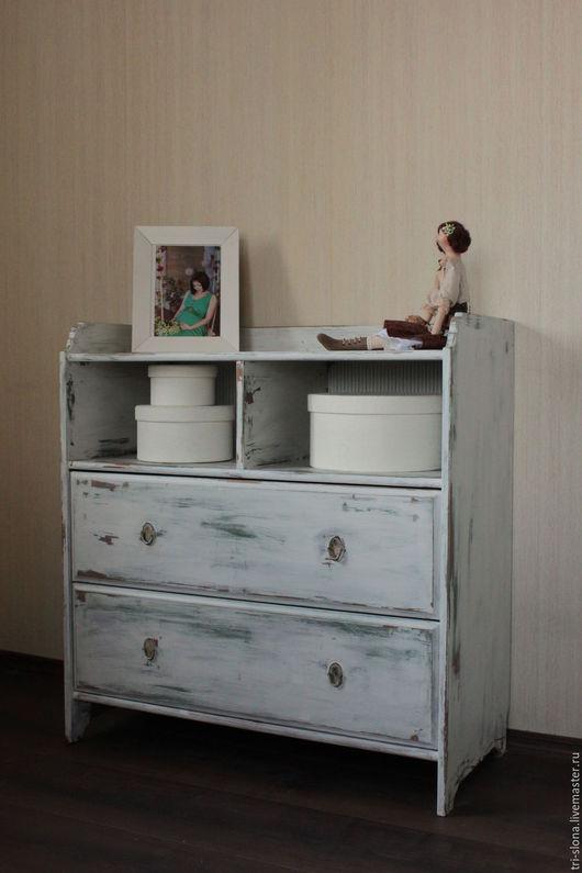 Мебель ручной работы. Ярмарка Мастеров - ручная работа. Купить Комод  (реставрация, перекраска). Handmade. Белый, Мебель, декор мебели