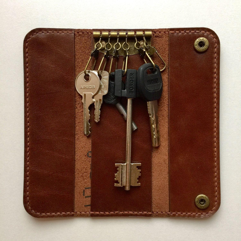 key holder made of genuine leather, Housekeeper, Yaroslavl,  Фото №1