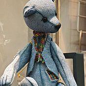 """Куклы и игрушки ручной работы. Ярмарка Мастеров - ручная работа Мишка""""Левис"""", ностальгическая коллекция. Handmade."""