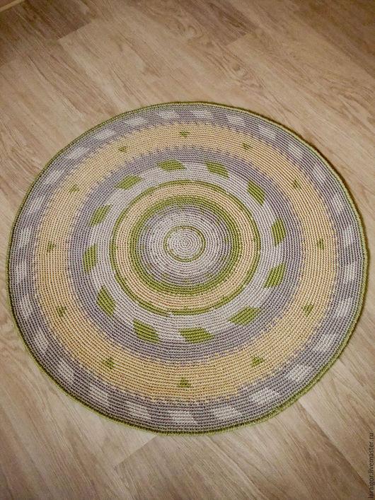 """Текстиль, ковры ручной работы. Ярмарка Мастеров - ручная работа. Купить Ковёр """"Гармония"""" вязаный крючком. Handmade. Комбинированный"""