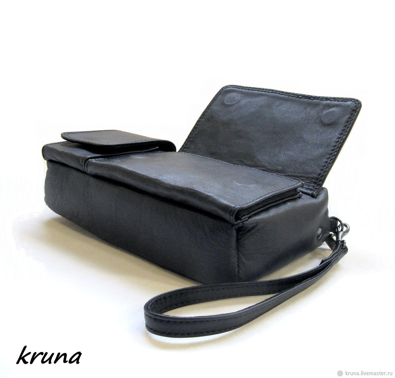 ca5e4efa3399 Мужская поясная сумка-клатч-портмоне-органайзер из натуральной кожи ...