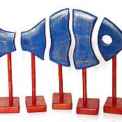 Для дома и интерьера ручной работы. Ярмарка Мастеров - ручная работа Синяя рыба. Handmade.