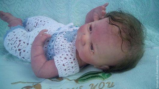 Куклы-младенцы и reborn ручной работы. Ярмарка Мастеров - ручная работа. Купить Малышка Дашуля. Handmade. Бледно-розовый