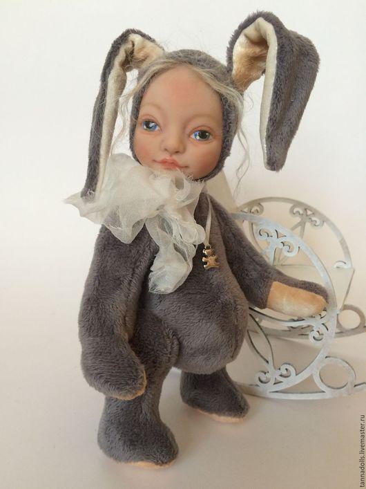 """Коллекционные куклы ручной работы. Ярмарка Мастеров - ручная работа. Купить Теддидолл """"Зая"""". Handmade. Комбинированный, тедди зайка"""