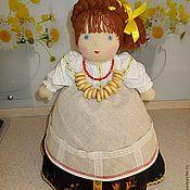 """Для дома и интерьера ручной работы. Ярмарка Мастеров - ручная работа Кукла на чайник """"Миха"""". Handmade."""
