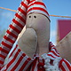 Куклы Тильды ручной работы. Ярмарка Мастеров - ручная работа. Купить Тильда Сплюшка. Ангел-хранитель добрых снов.. Handmade.