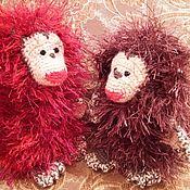 Куклы и игрушки ручной работы. Ярмарка Мастеров - ручная работа Обезьянка Гранатка. Handmade.