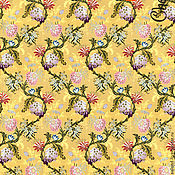 """Материалы для творчества ручной работы. Ярмарка Мастеров - ручная работа Декупажная карта """"Золотая парча"""" А3. Handmade."""