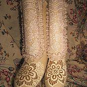 """Обувь ручной работы. Ярмарка Мастеров - ручная работа Валенки """"Снежная королева"""". Handmade."""