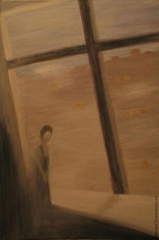 """Символизм ручной работы. Ярмарка Мастеров - ручная работа. Купить Картина """"Свой крест"""". Handmade. Картина, крест, символизм, серый"""