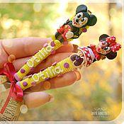 Подарки к праздникам ручной работы. Ярмарка Мастеров - ручная работа Столовые приборы для деток. Handmade.