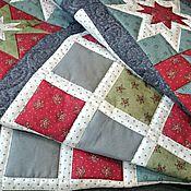 Для дома и интерьера ручной работы. Ярмарка Мастеров - ручная работа Лоскутное одеяло Утро Рождества  пэчворк. Handmade.