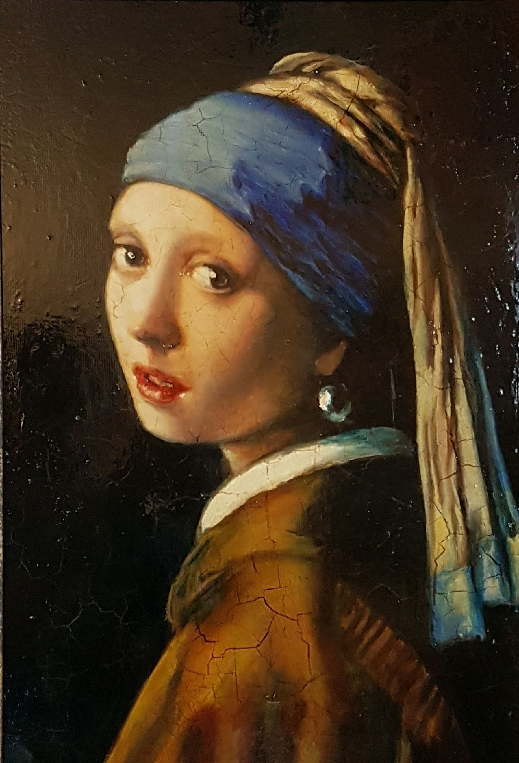 girl with a pearl earring. copy, Pictures, Zelenograd,  Фото №1