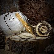 Материалы для творчества handmade. Livemaster - original item Crochet hook 4#20. Handmade.