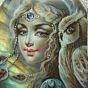 Украшения ручной работы. Ярмарка Мастеров - ручная работа Лунный ветер (серебро ). Handmade.