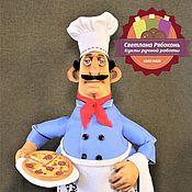 Куклы и игрушки ручной работы. Ярмарка Мастеров - ручная работа Итальянский  пиццайоло. Handmade.